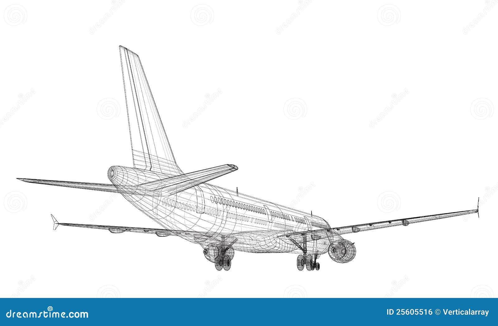 jet aircraft royalty free stock image