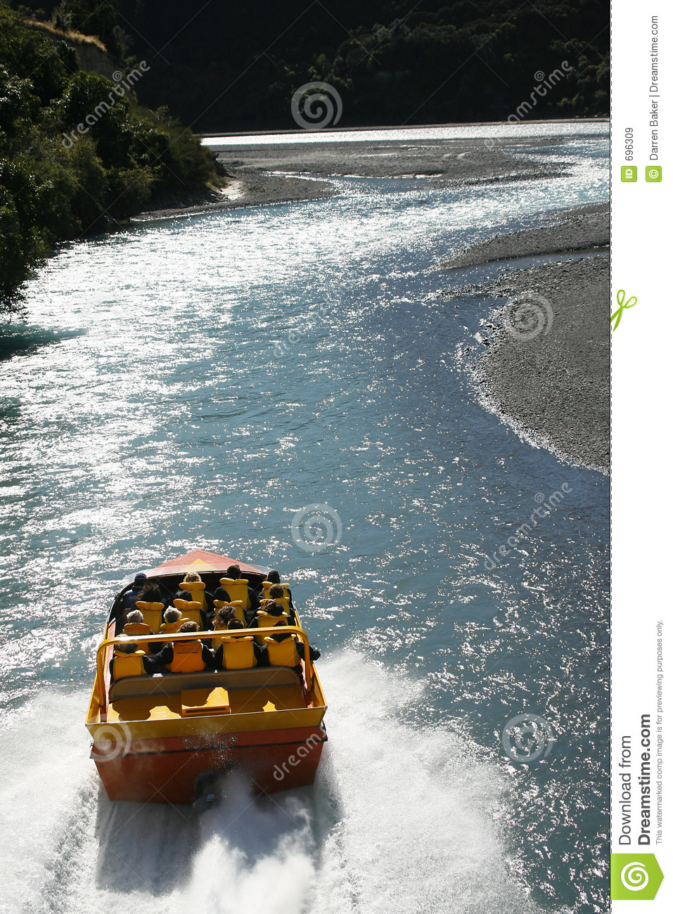 Jet Boat stock image. Image of river, powerboat, sports ...