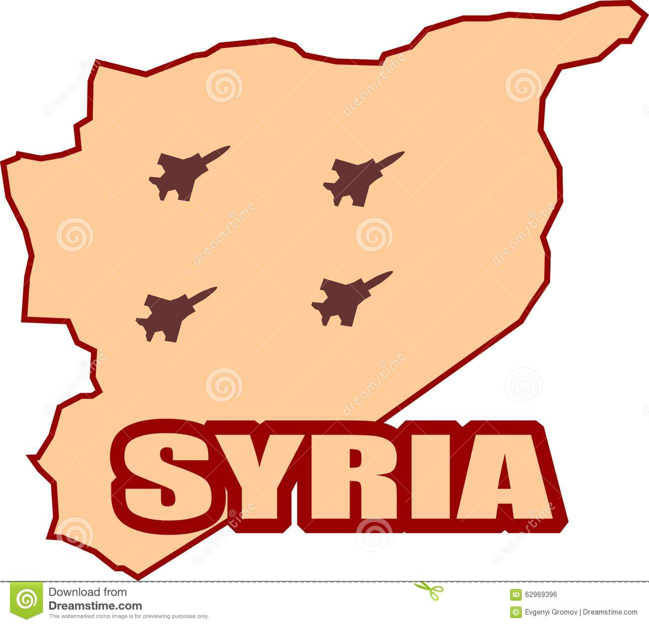 Jet er Shadows On Syria Map Stock Vector - Illustration of ... Calip Isis Map on