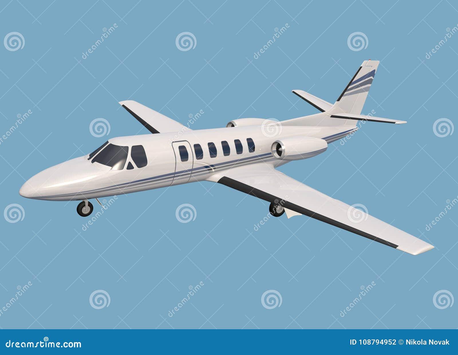 Jet d entreprise de citation de Cessna 550