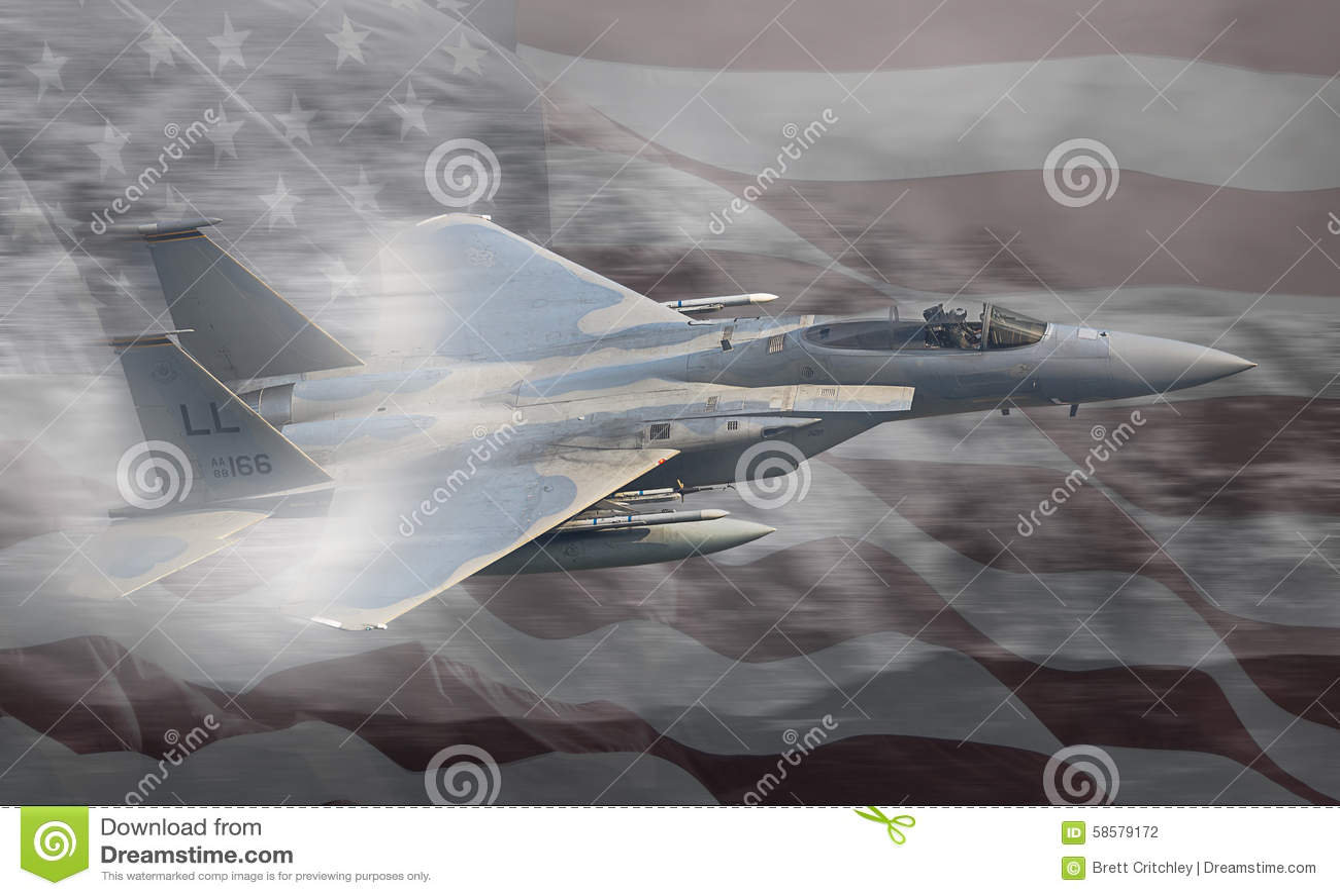 Jet de la fuerza aérea del U.S.A.F. Estados Unidos