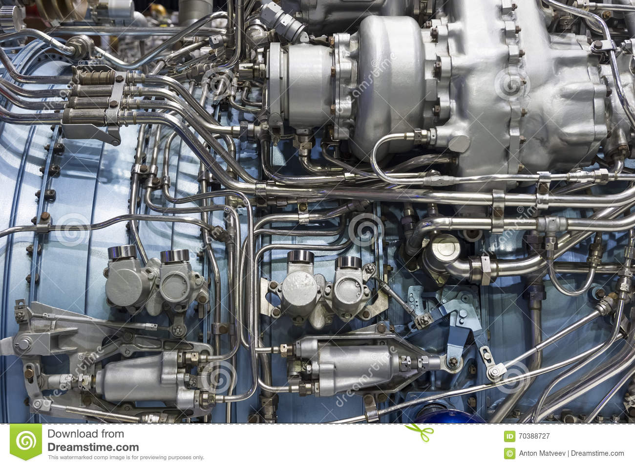 Jet engine detail stock image. Image of combustion, equipment - 70388727