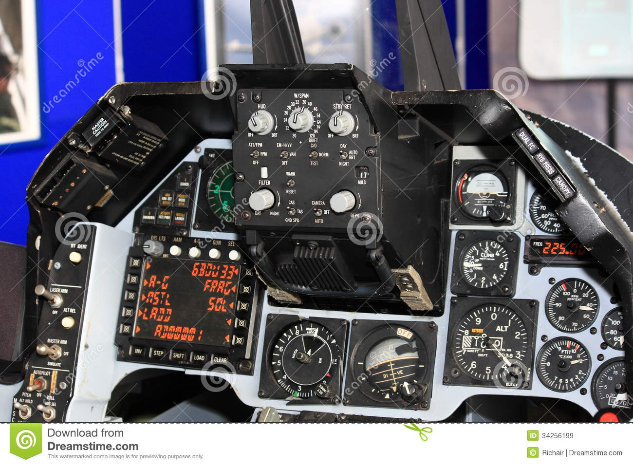 F 16 Fighter Jet Cockpit Jet fighter cockpit st...