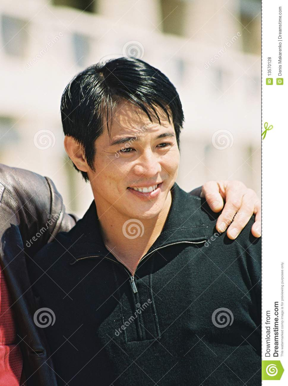 CANNES, FRANCE - MAY 12: Jet Li attends the photocall Kiss of the ...