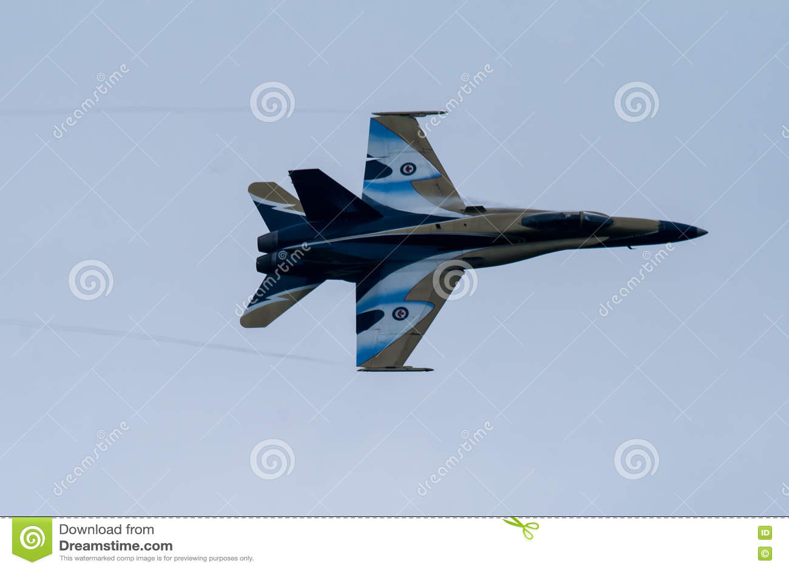 Jet militar canadiense