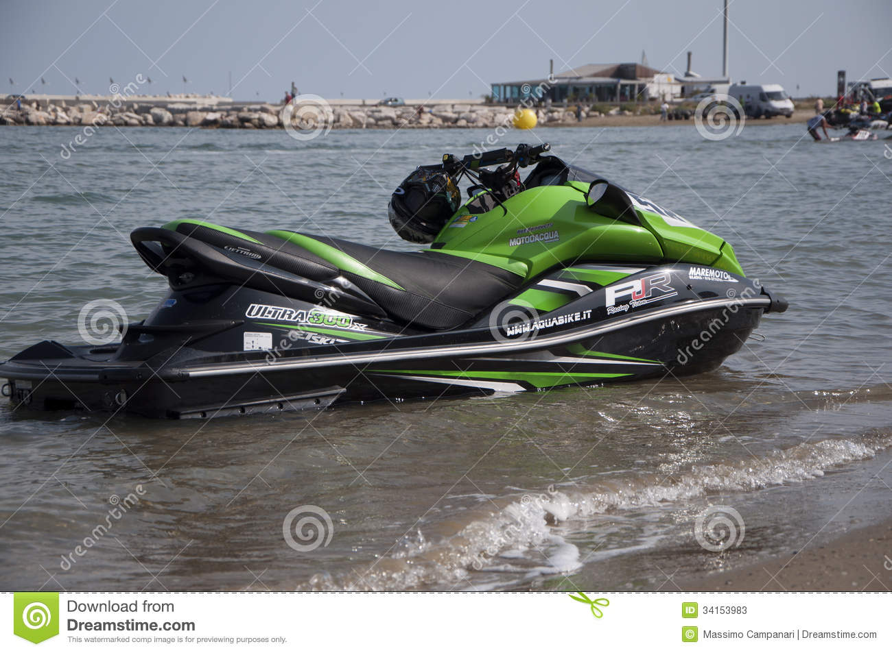 jet ski race editorial stock photo image 34153983. Black Bedroom Furniture Sets. Home Design Ideas