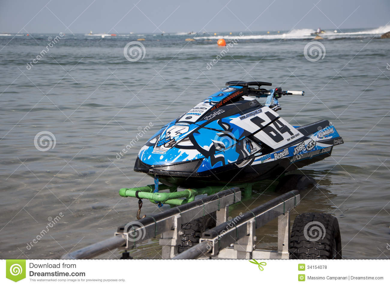 jet ski race editorial stock photo image 34154078. Black Bedroom Furniture Sets. Home Design Ideas