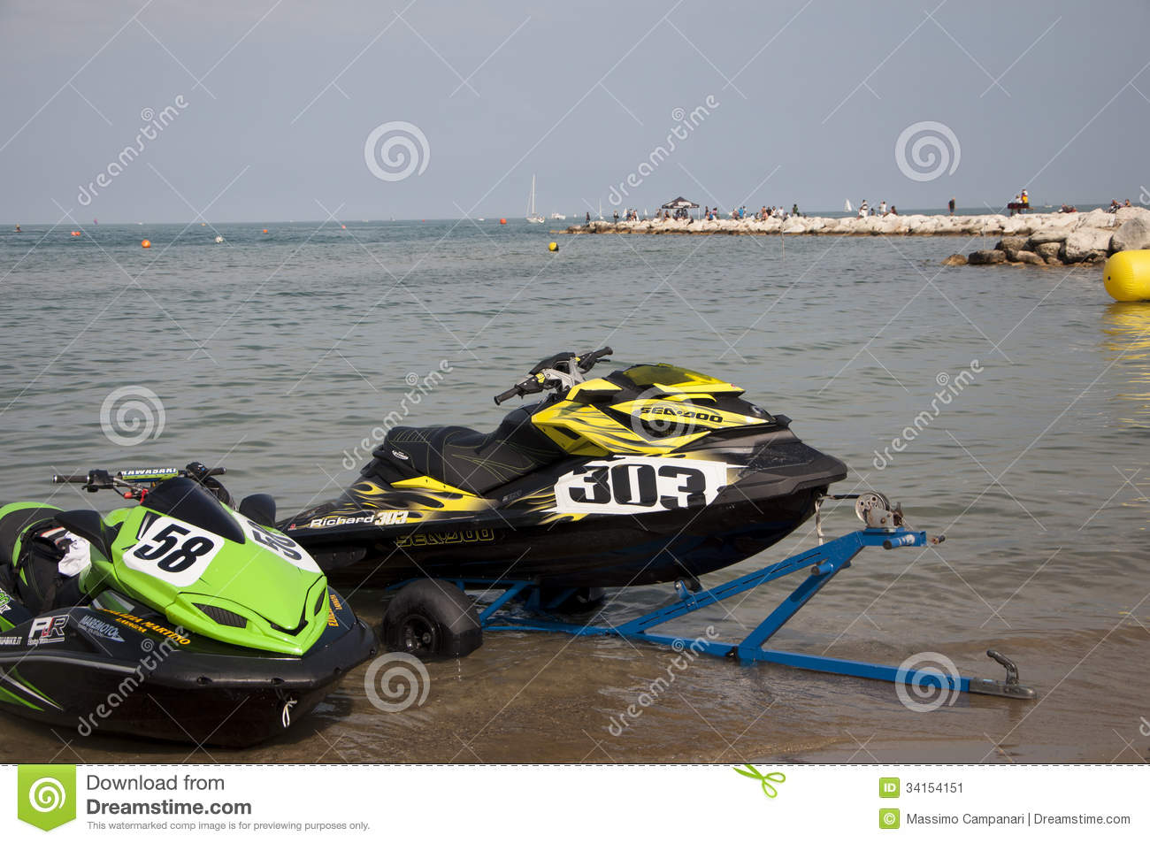 jet ski race editorial photo image 34154151. Black Bedroom Furniture Sets. Home Design Ideas