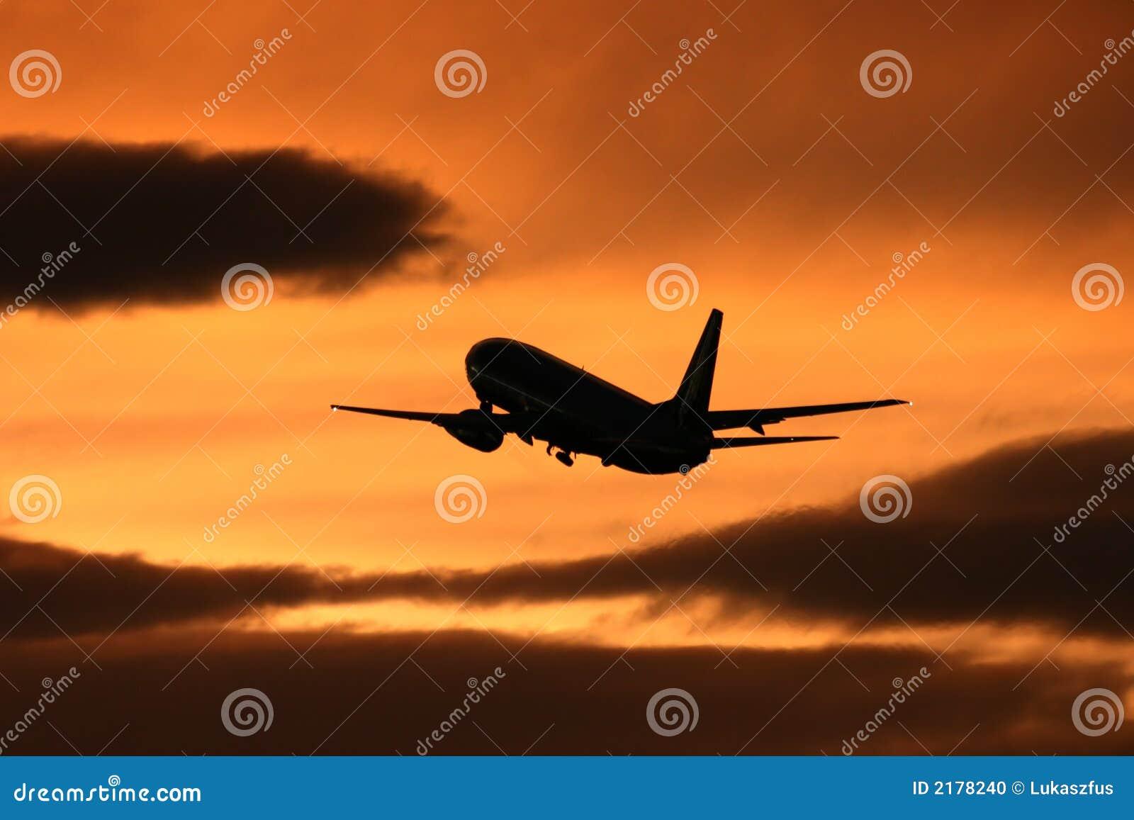 Jet Taking Flight