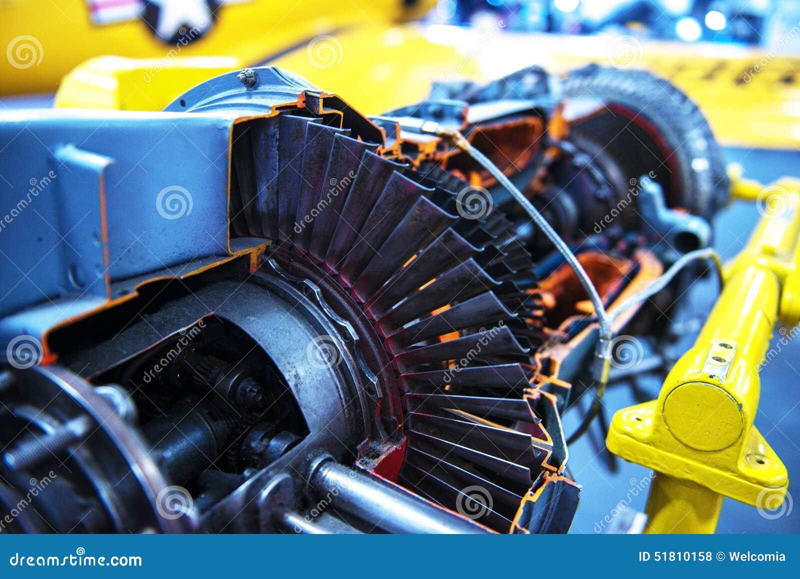 Jet Turbine Engine Profile