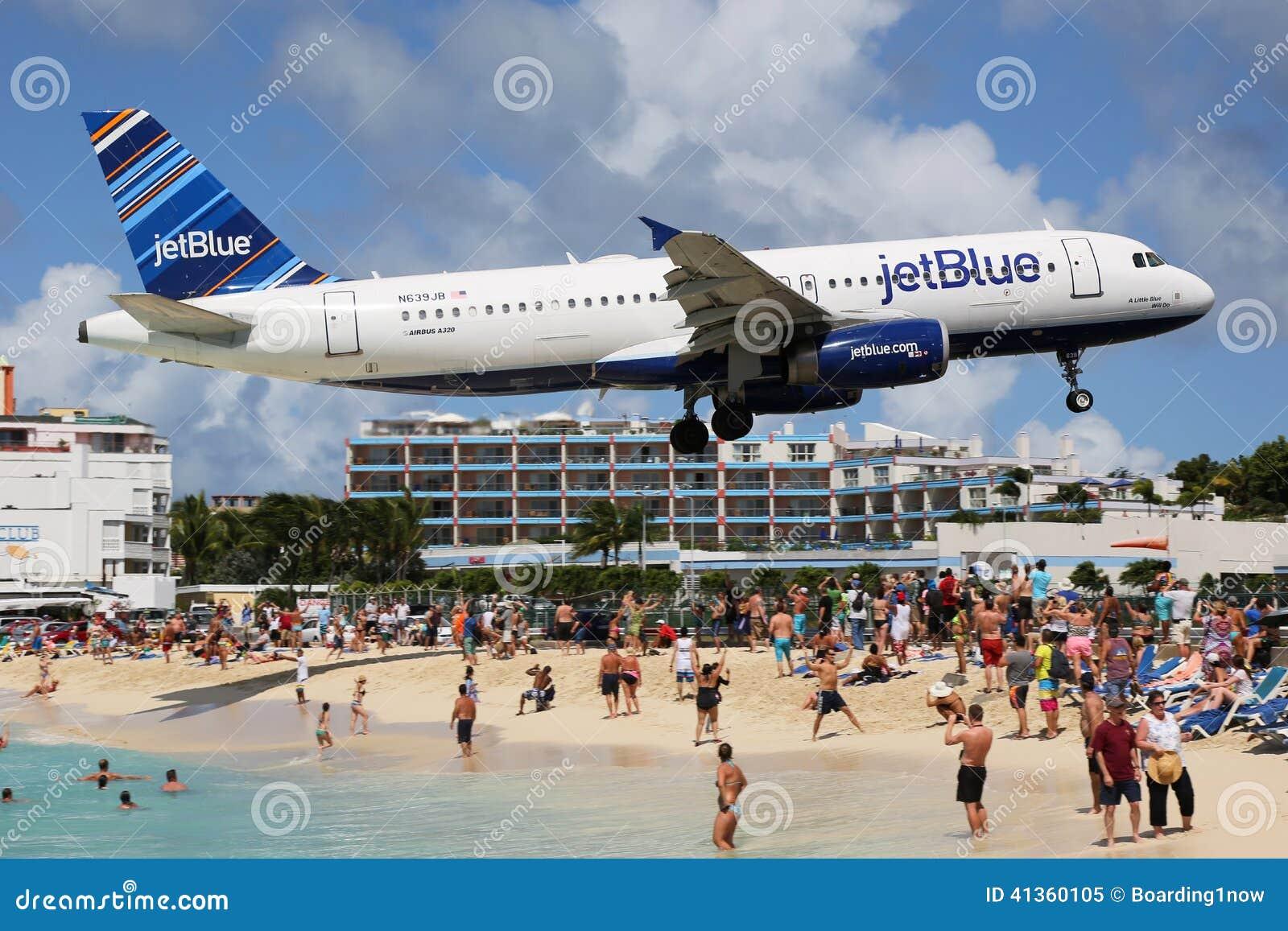 Plane Off Runway Virgin Islands