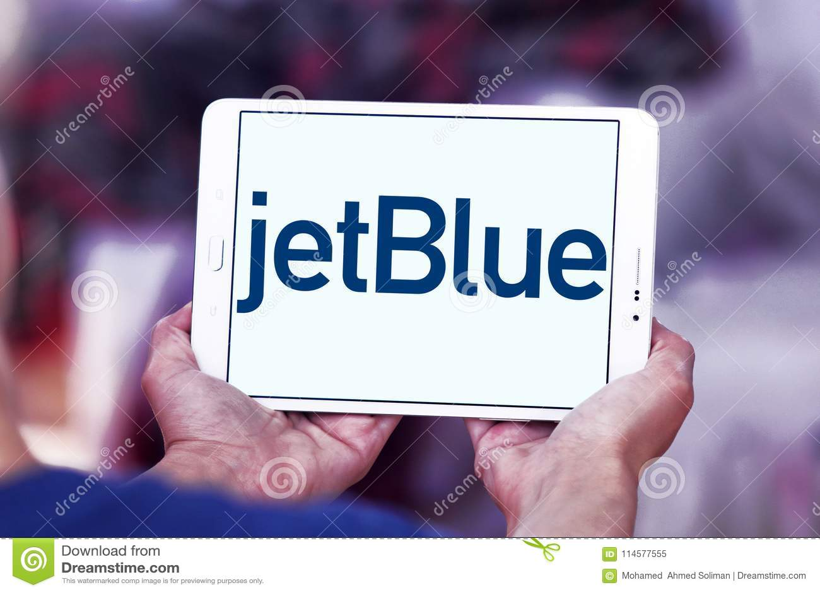 Jetblue Airways Corporation Logo Editorial Image Image Of Airways