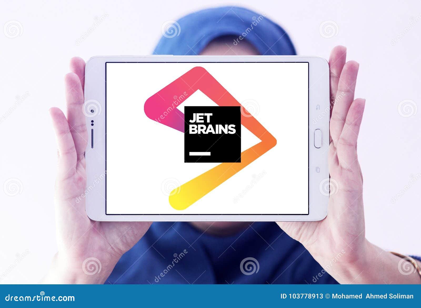 JetBrains Software Development Company Logo Editorial Stock Photo