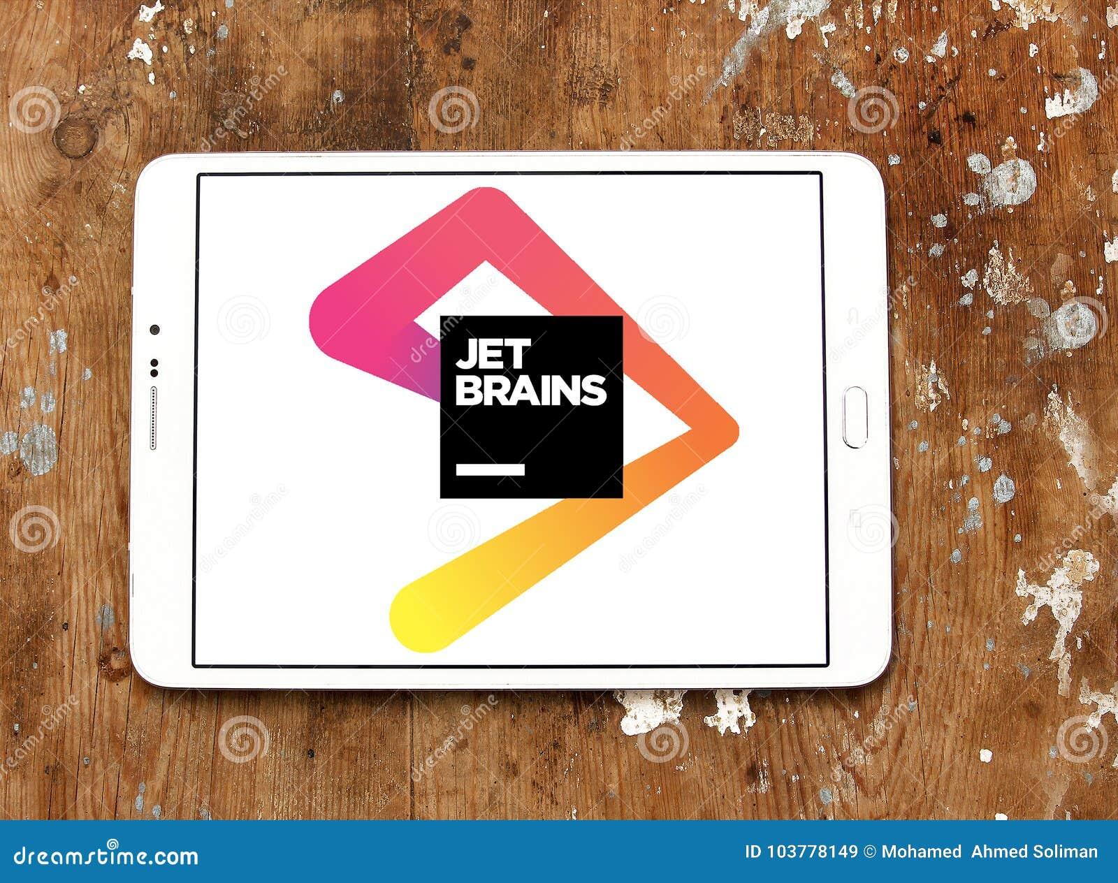 JetBrains Software Development Company Logo Editorial Stock Image