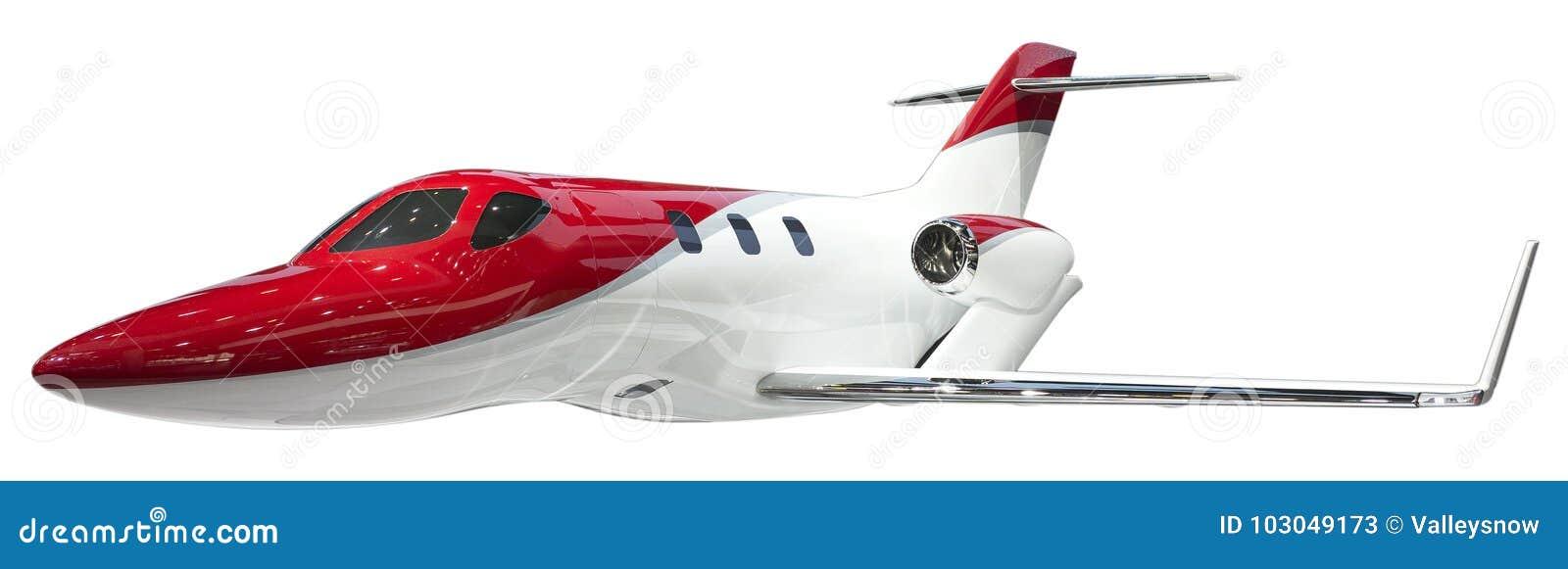 Jetliner isolate