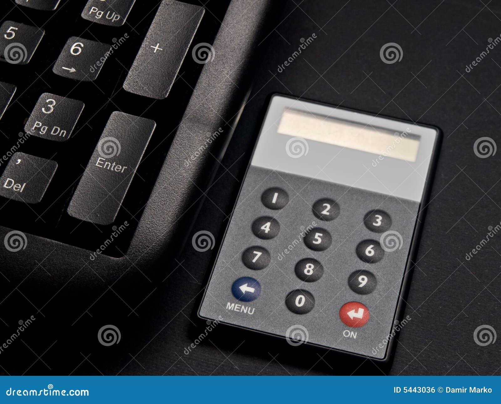 Jeton et clavier de garantie