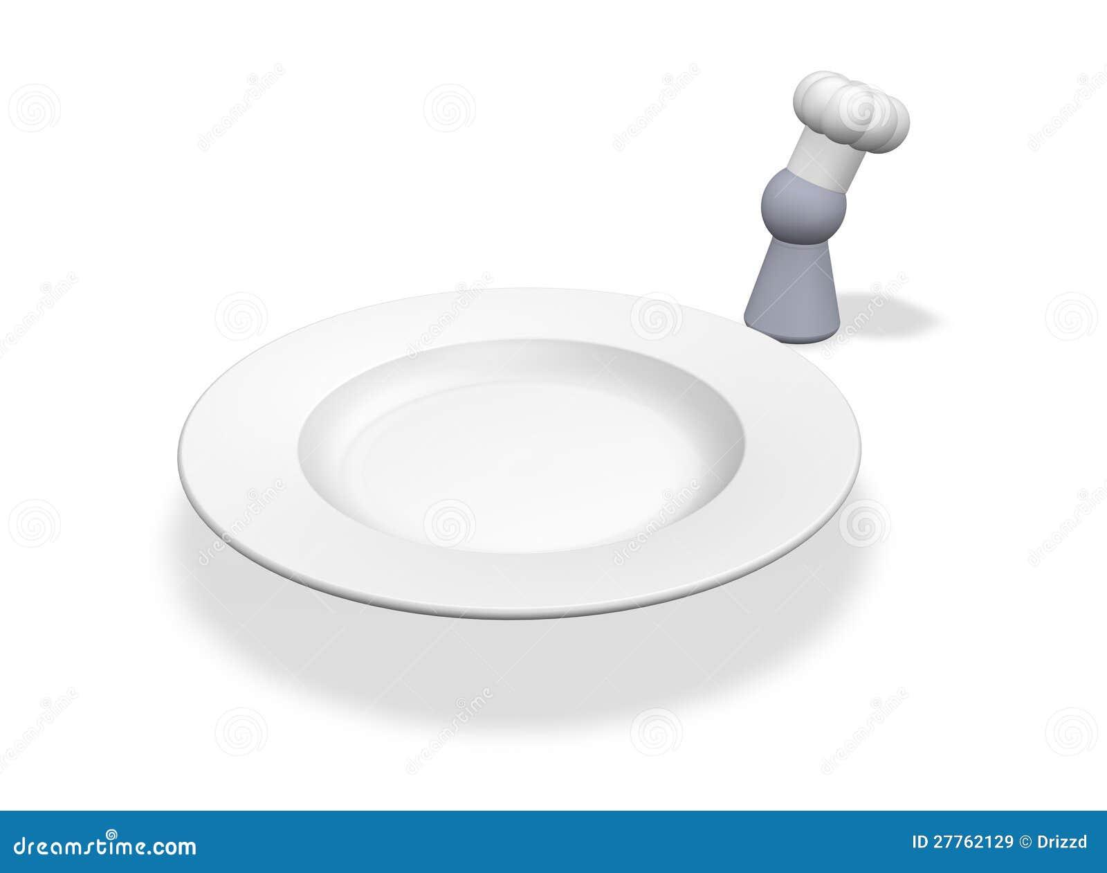 Jeton et plaque de cuisinier