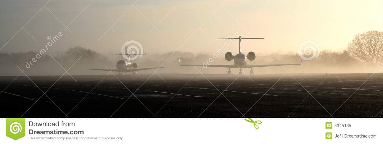 Jets in the mist