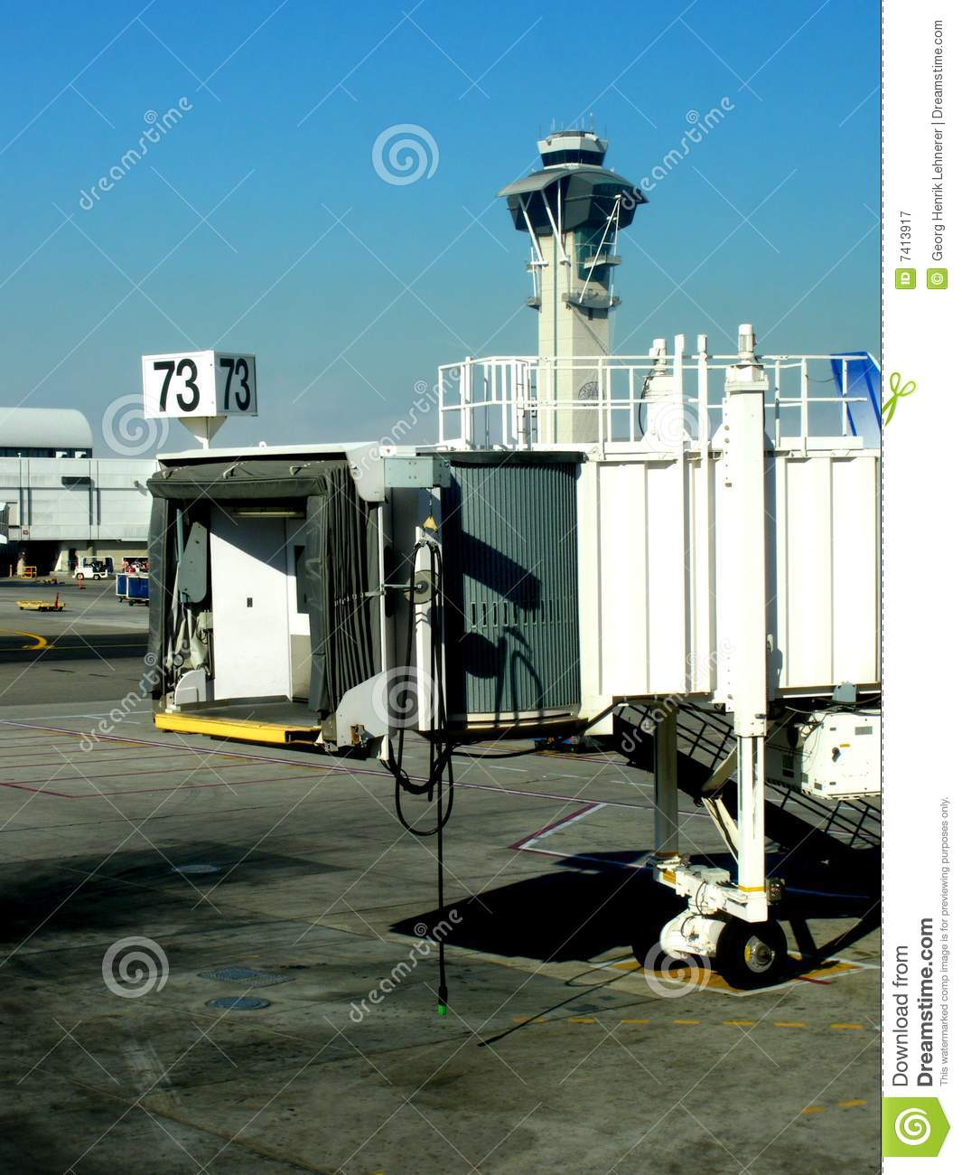 Jetway Royalty Free Stock Photography