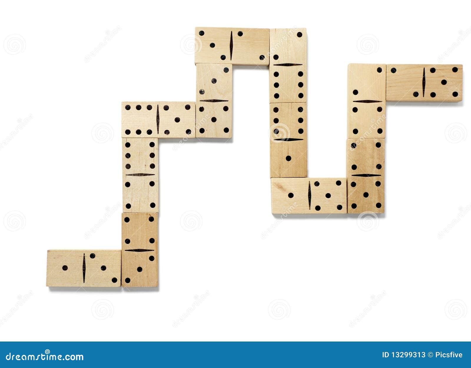 jeu de domino image stock image du passe danger. Black Bedroom Furniture Sets. Home Design Ideas