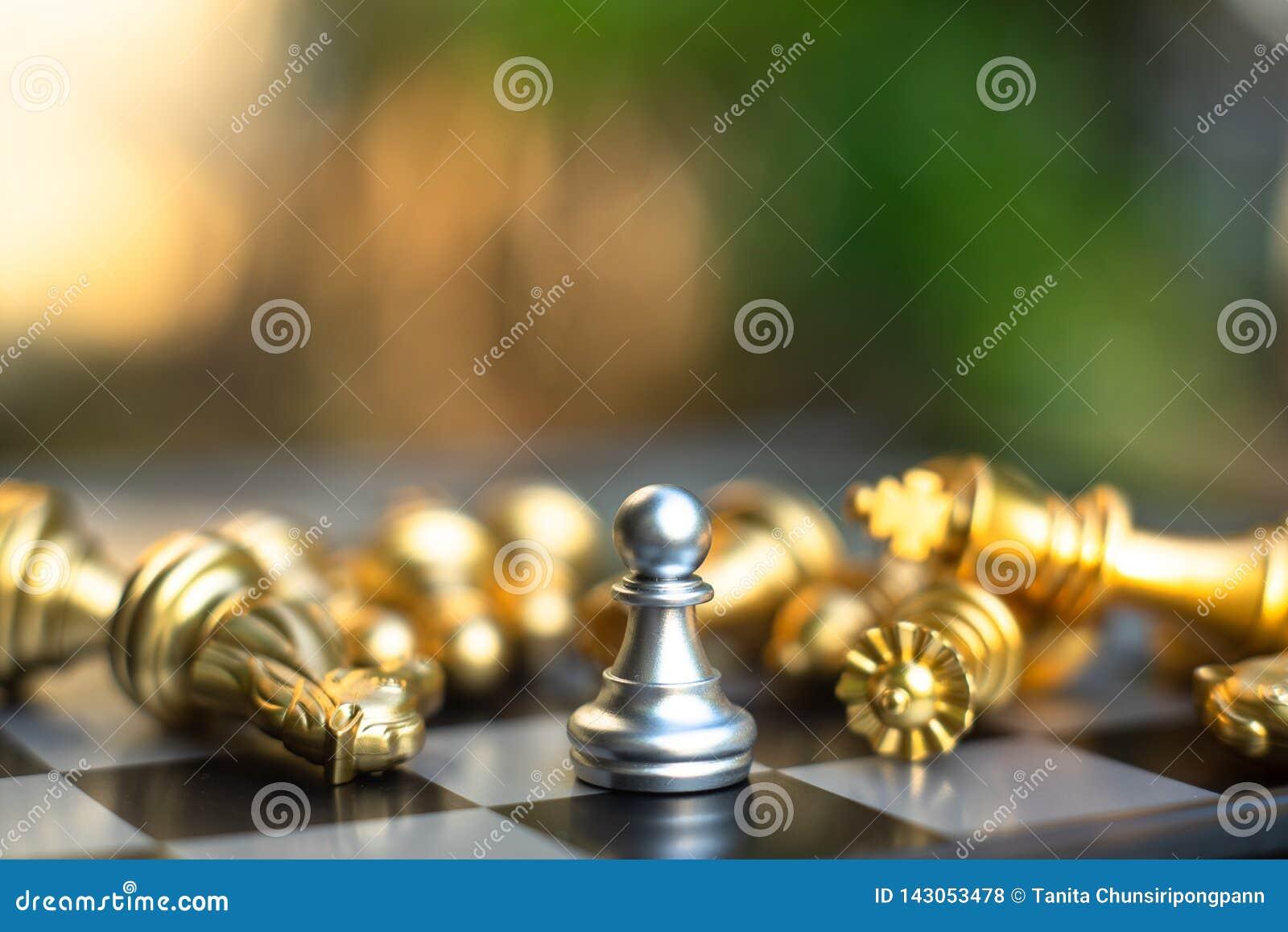 Jeu de société d échecs, concept concurrentiel d affaires
