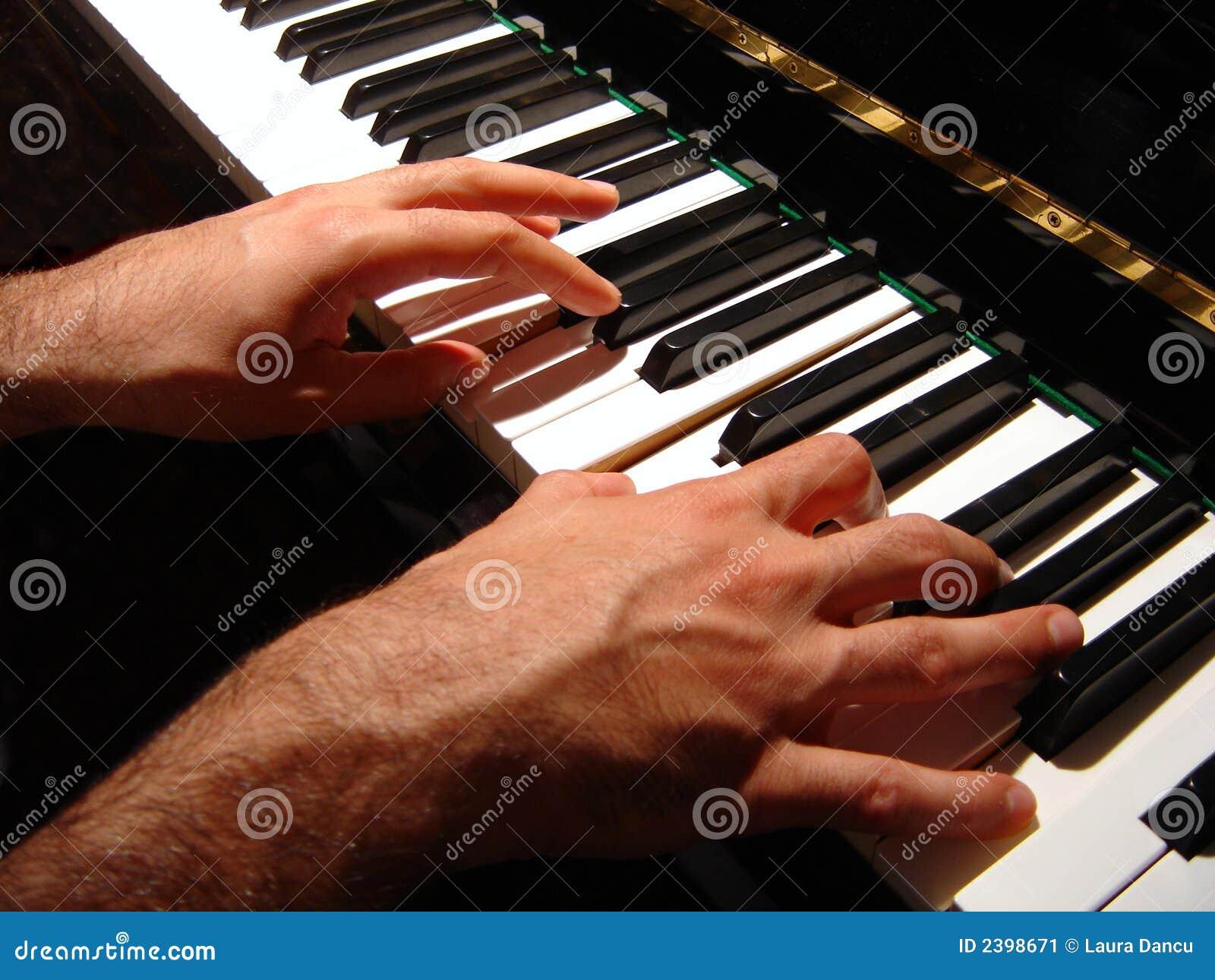 Jeu du piano