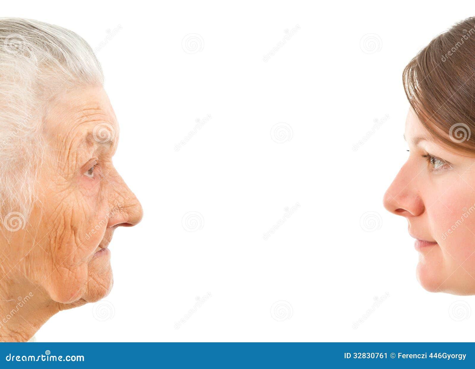 Jeune et vieux