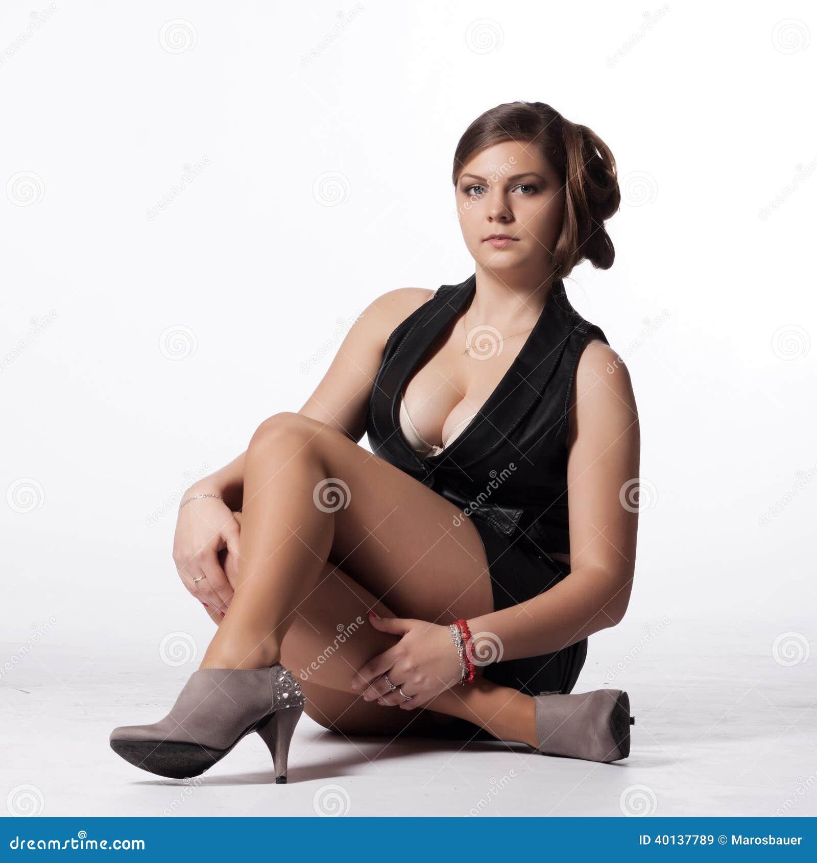 1 talon haut mature streetshots femme