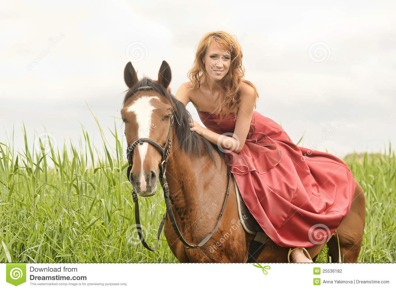 Can Femme et cheval speaking, would
