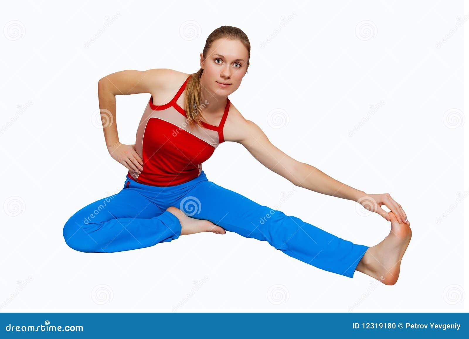 Jeune femme de forme physique