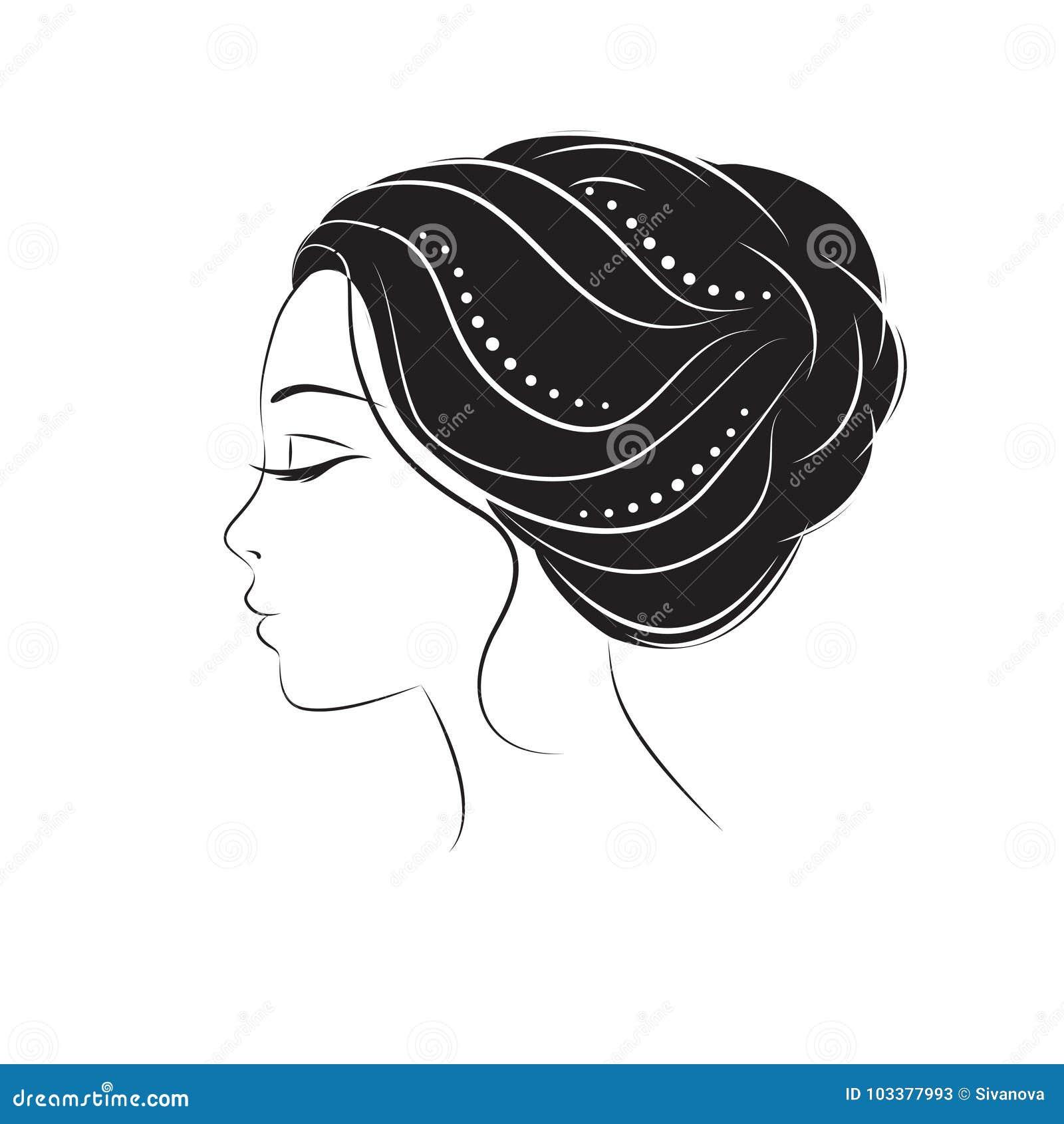 Visage Profil Dessin Femme