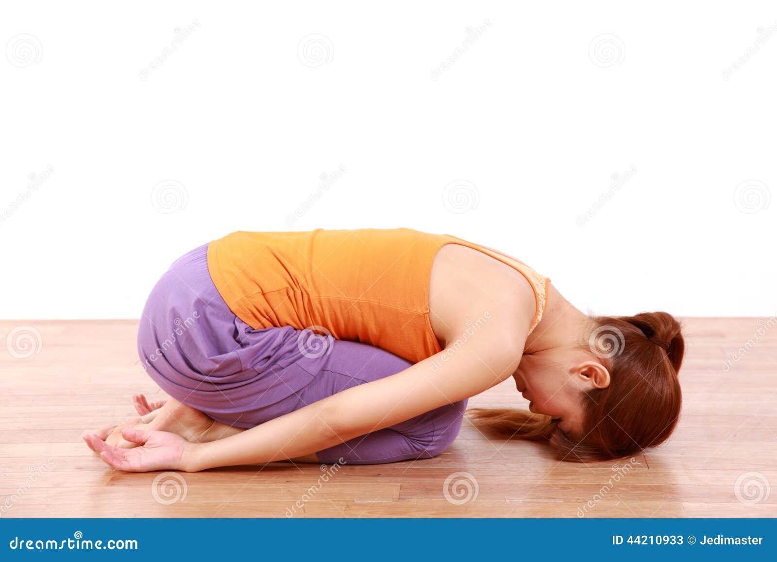 posture yoga japonais