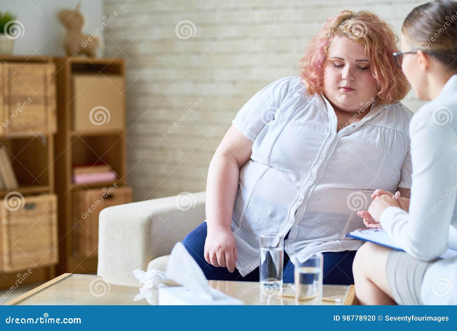 jeune femme obese