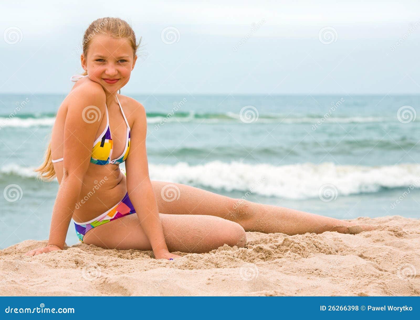 Photos de plage fille
