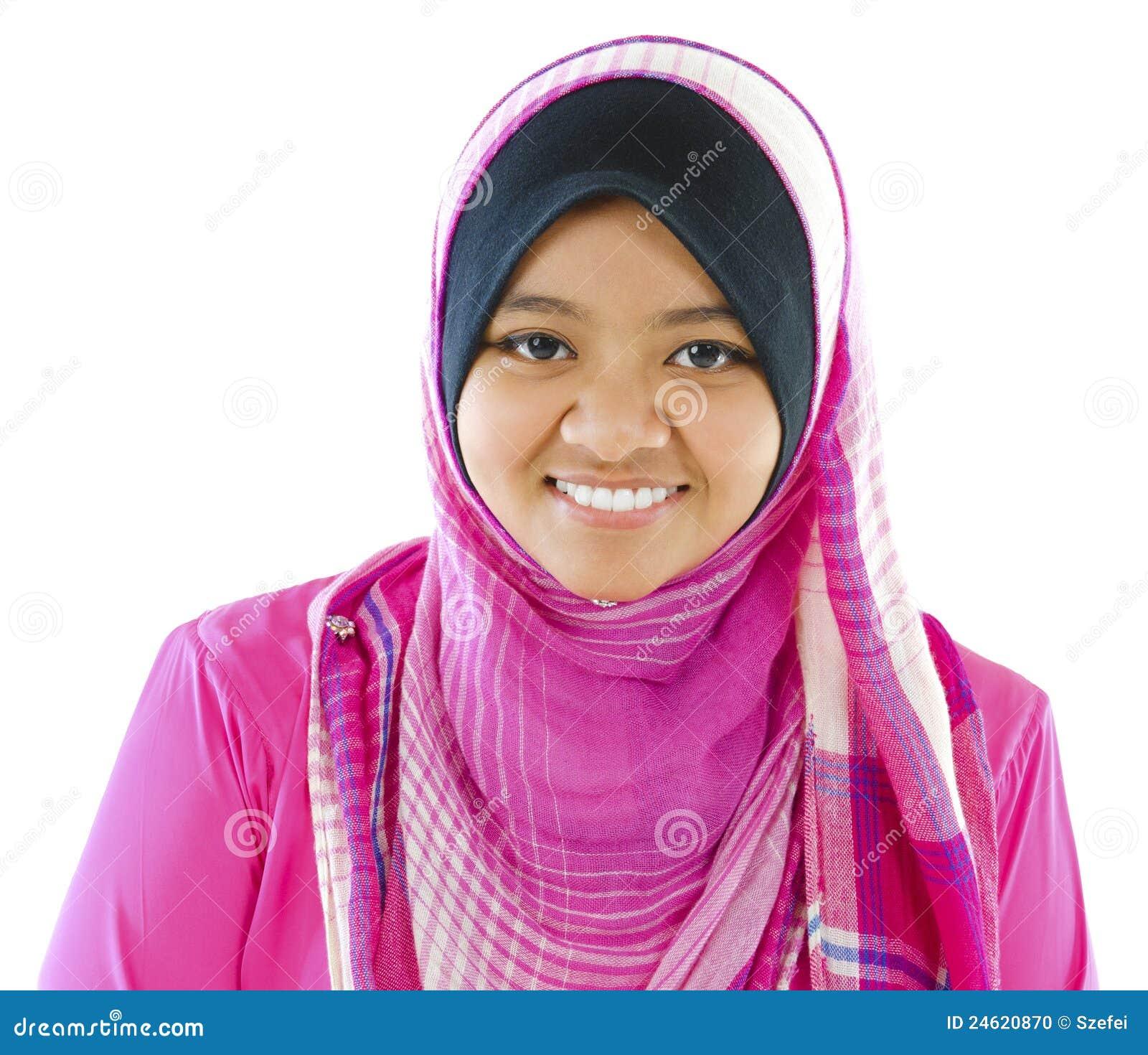 Jeune fille musulmane