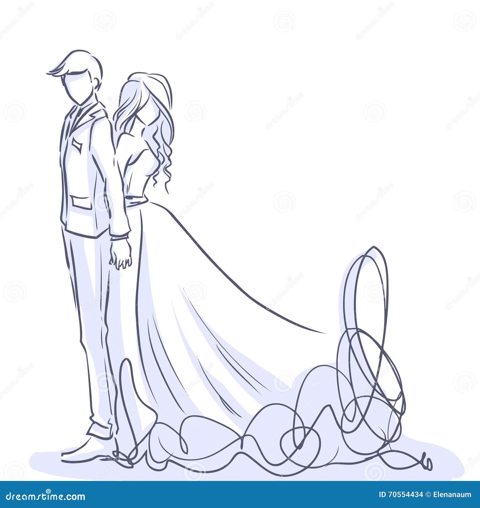 jeune mari e l gante et mari beau dessin anim de. Black Bedroom Furniture Sets. Home Design Ideas