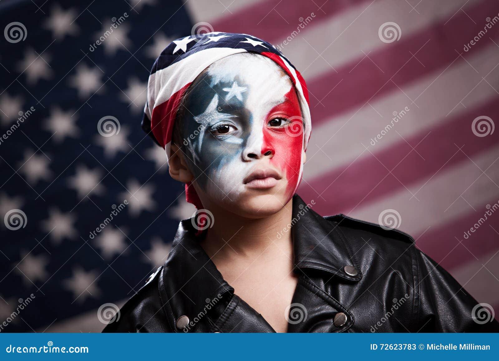 Jeune patriote américain