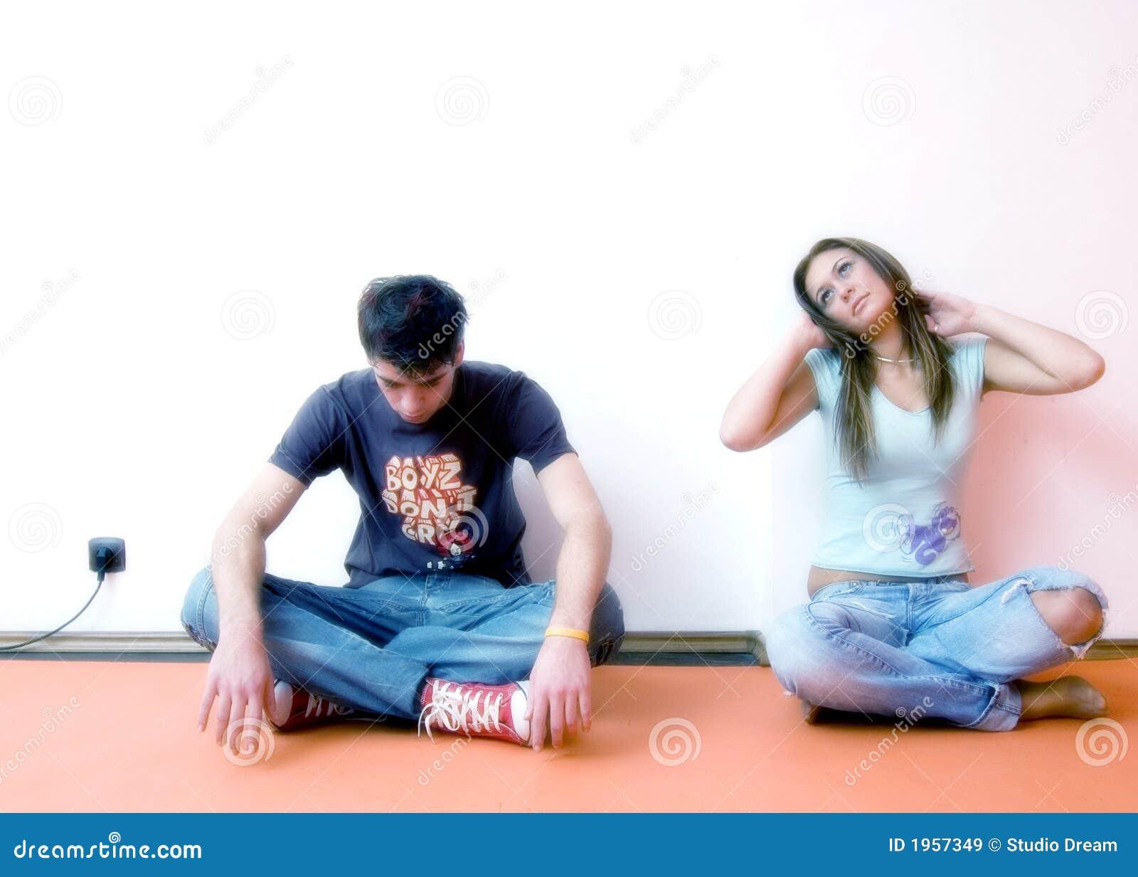 Jeune séance de couples