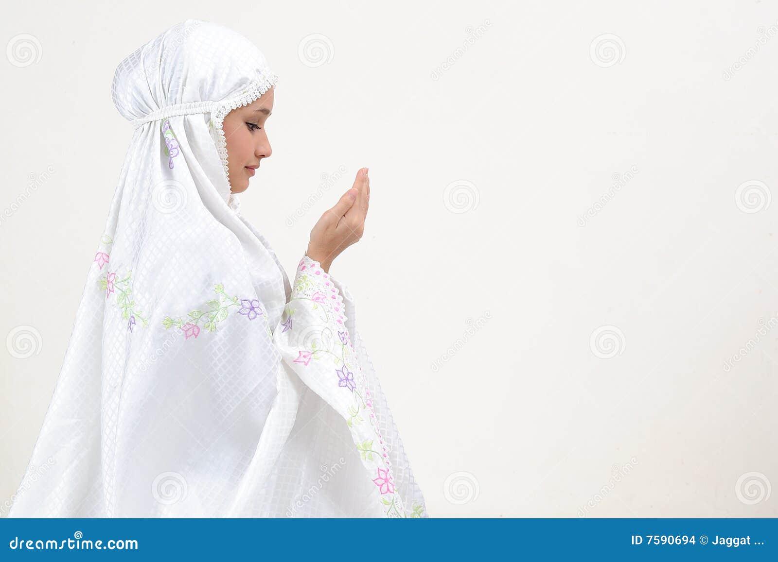 Jeunes de prière de femme