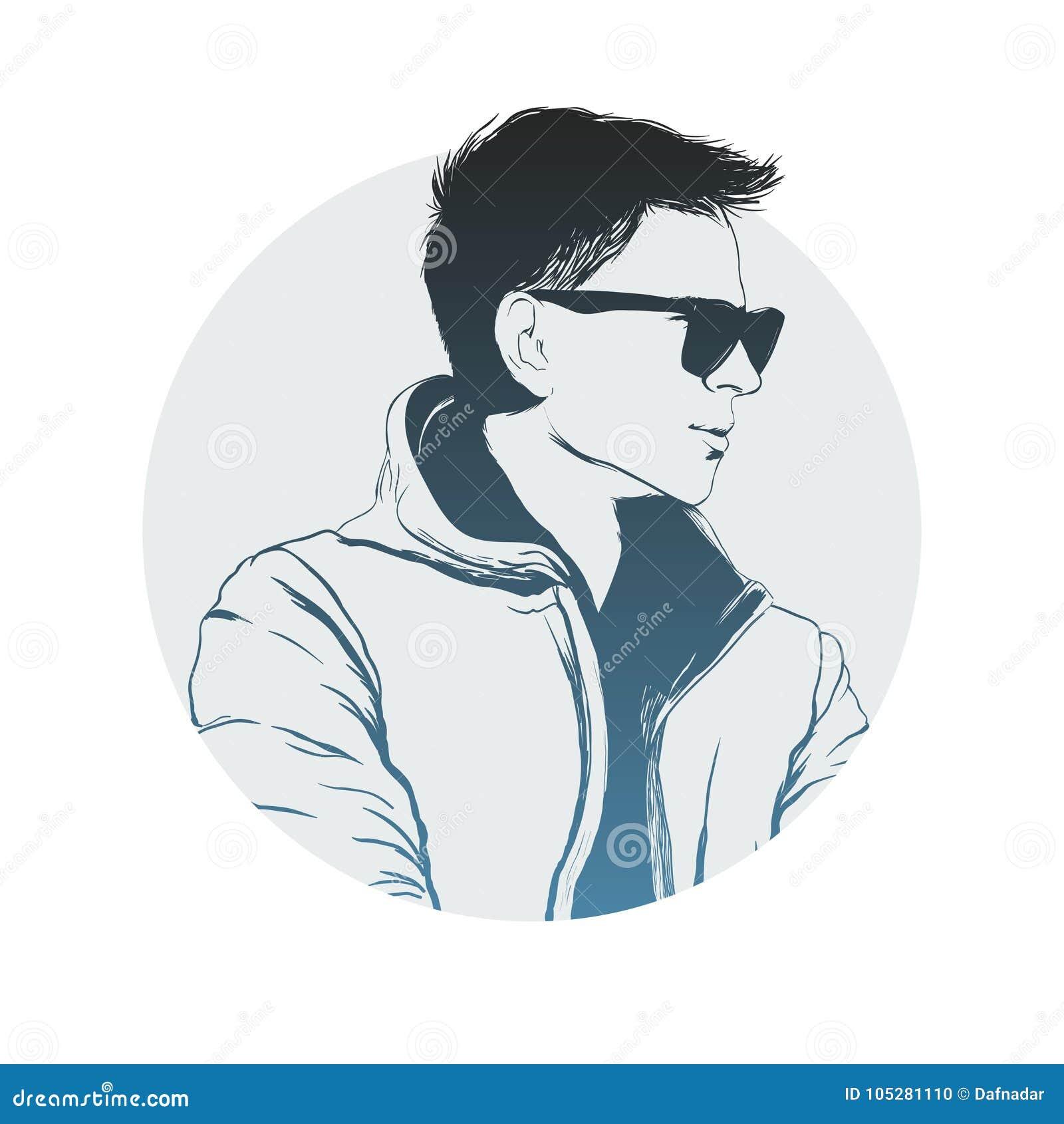 Dans Lunettes Adultes Style Soleil Des Jeunes Hommes De Beaux 7vb6gYfy