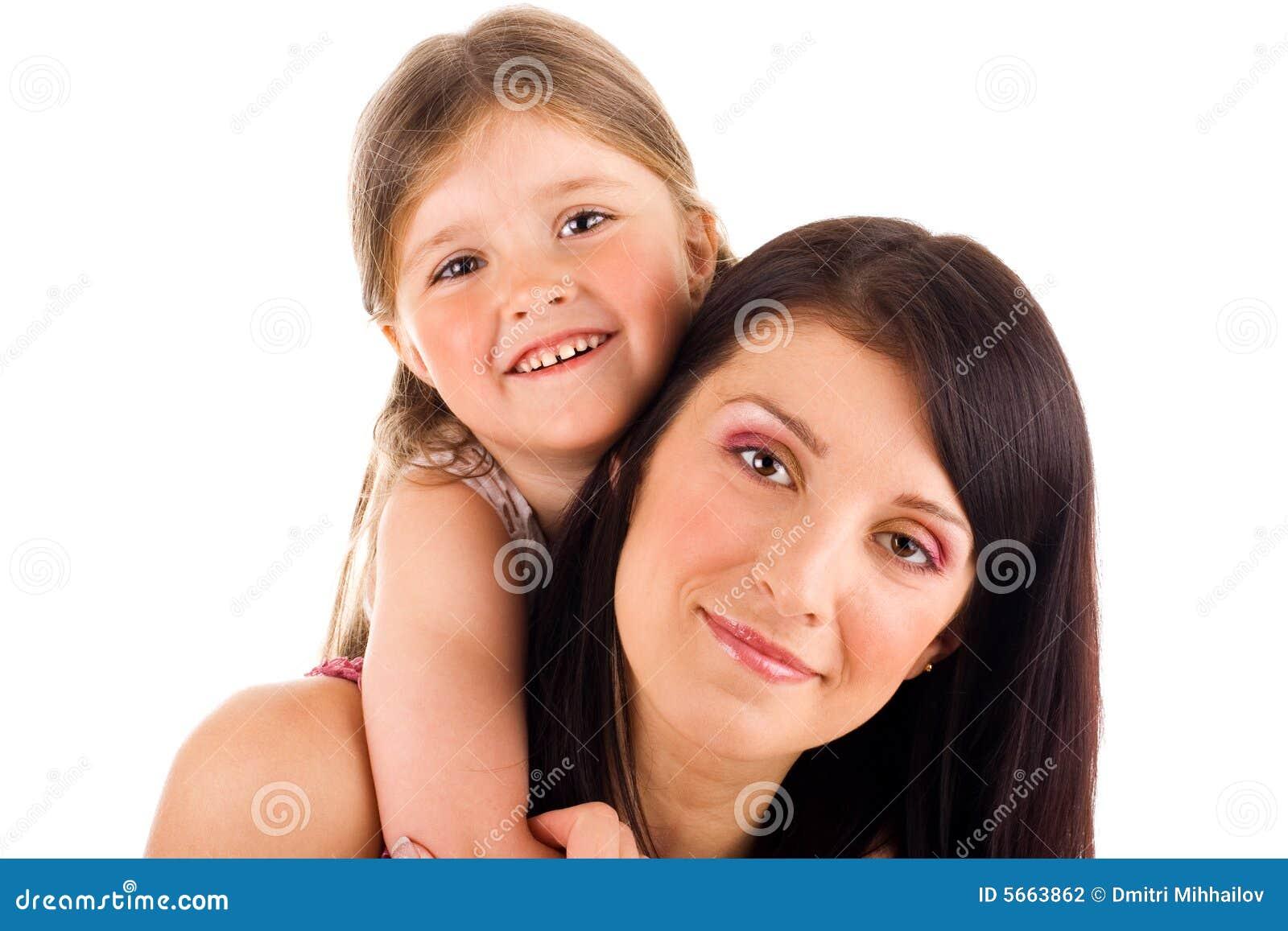 Jeunes mère et descendant