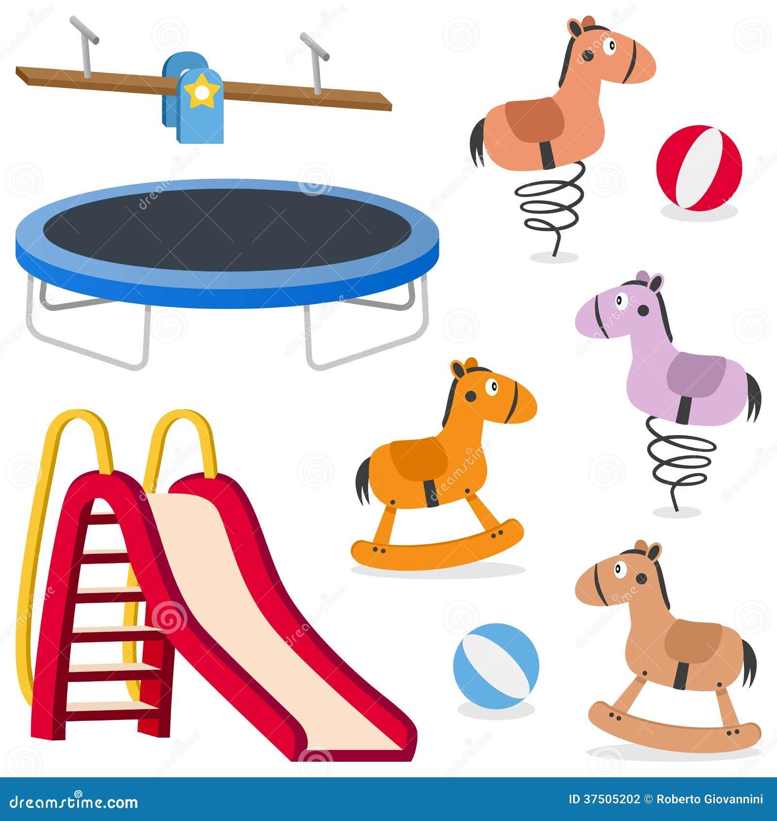 Jeux au sol de récréation d enfants réglés