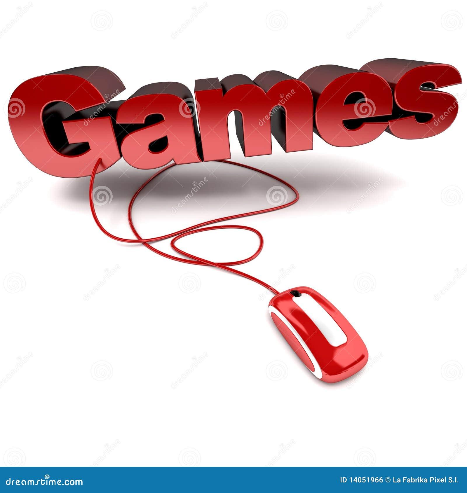 Jeux en ligne image libre de droits image 14051966 - Jeux de souris d ordinateur ...