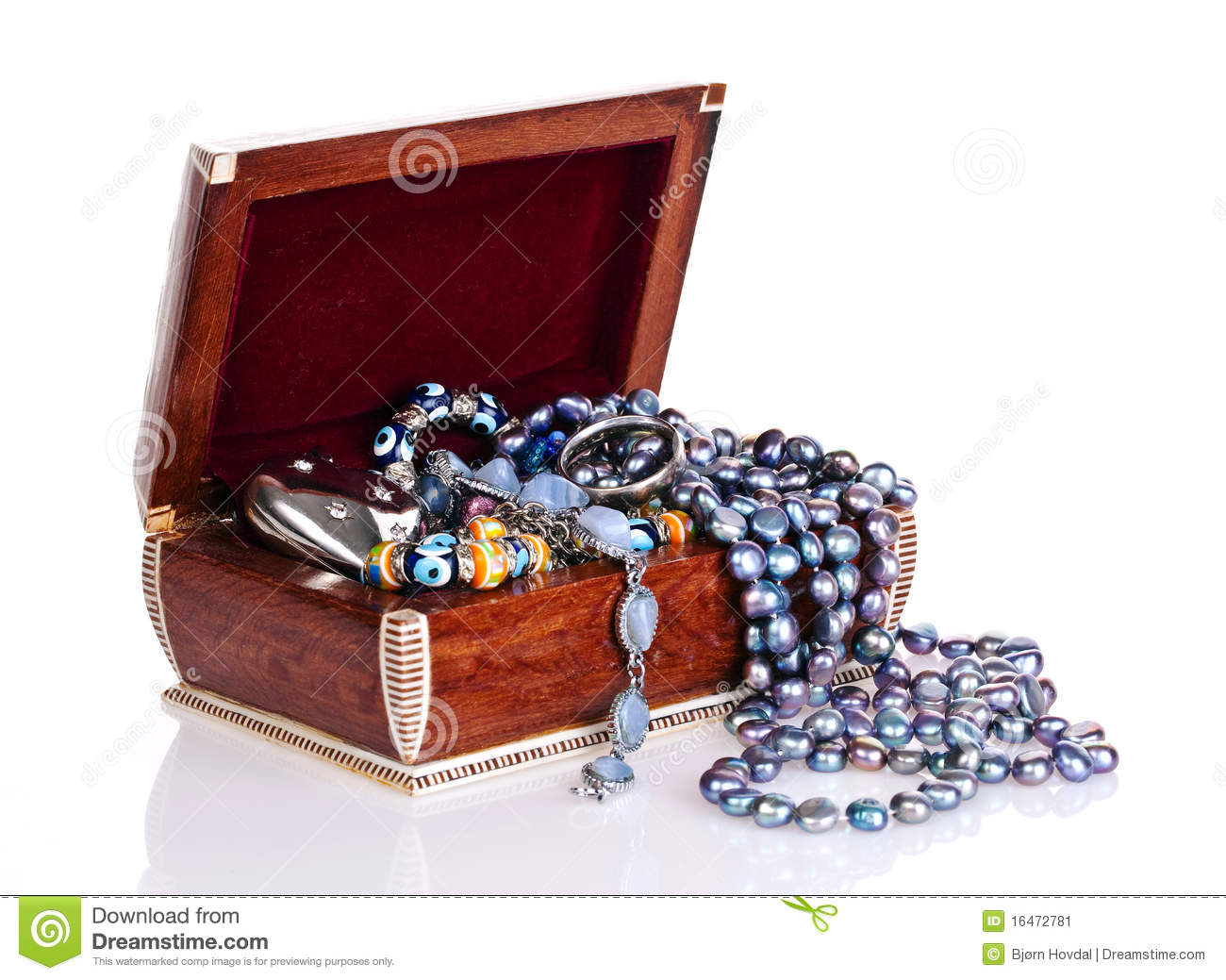 Download Jewellery box stock image. Image of beauty, giftbox, adornment - 16472781