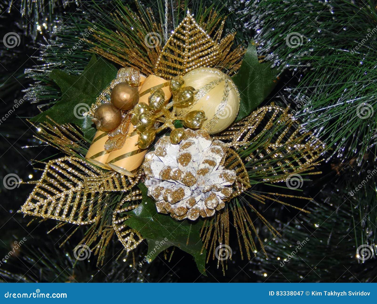 Jewellery Christmas Tree Toy Stock Image - Image of celebration ...