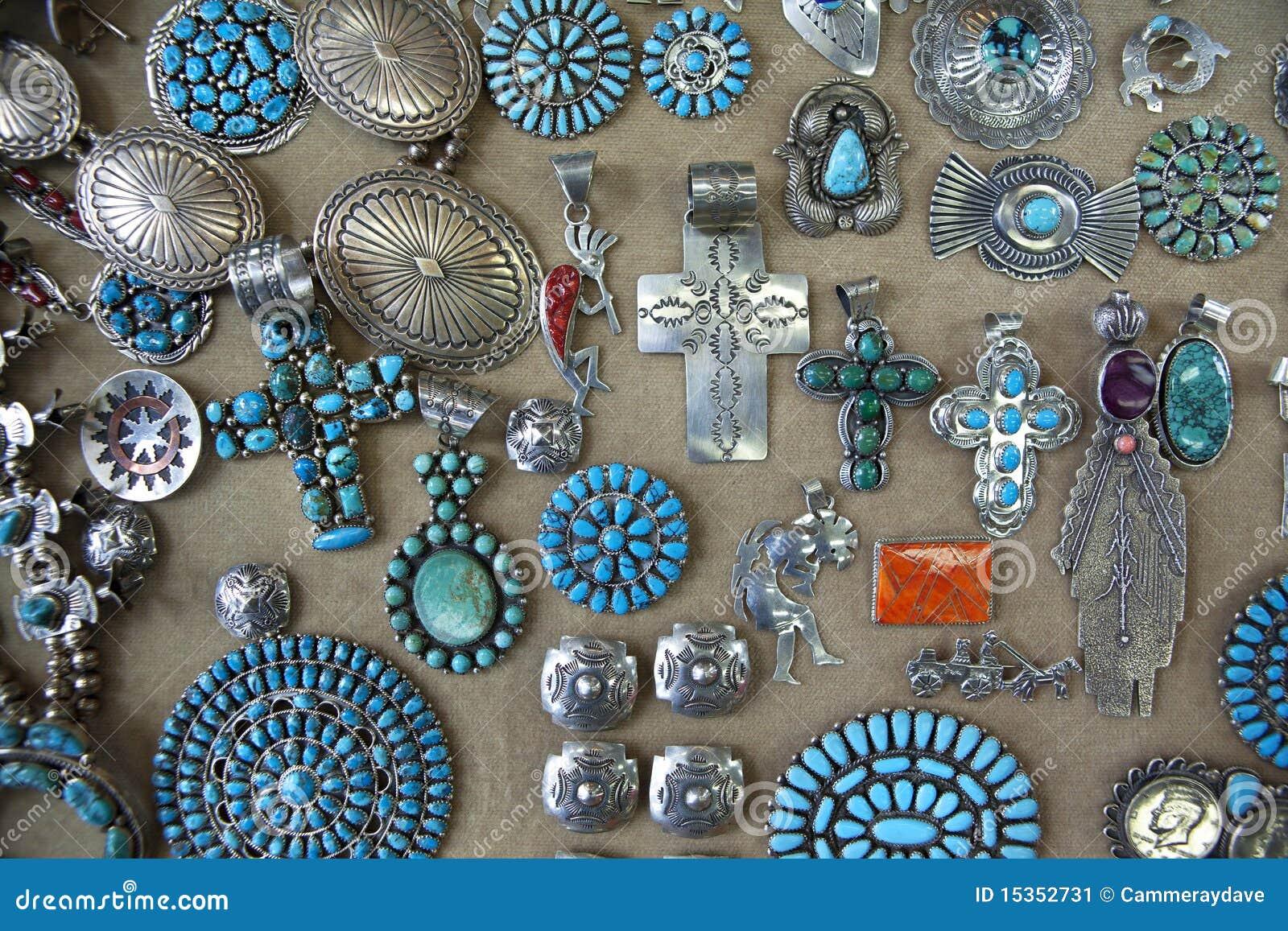 Jewellery indyjski navajo