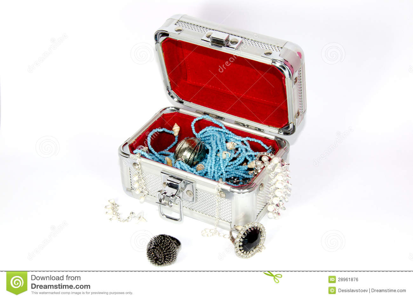 Jewellery pudełko