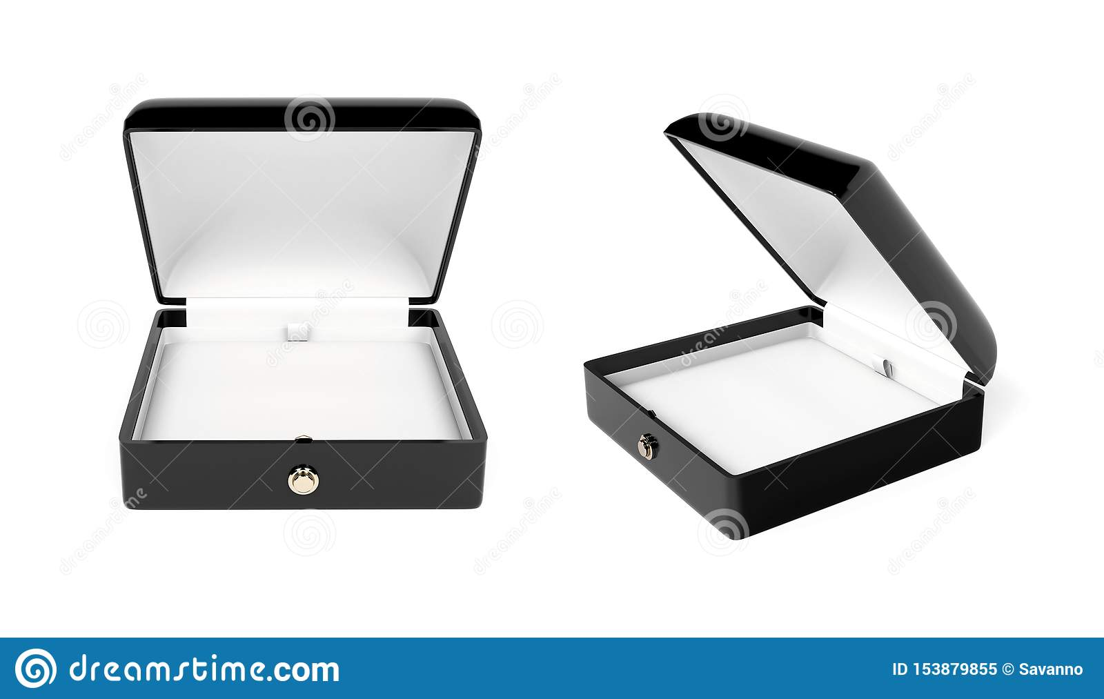 Jewelry Box. 3d Rendering Illustration Isolated Stock ...