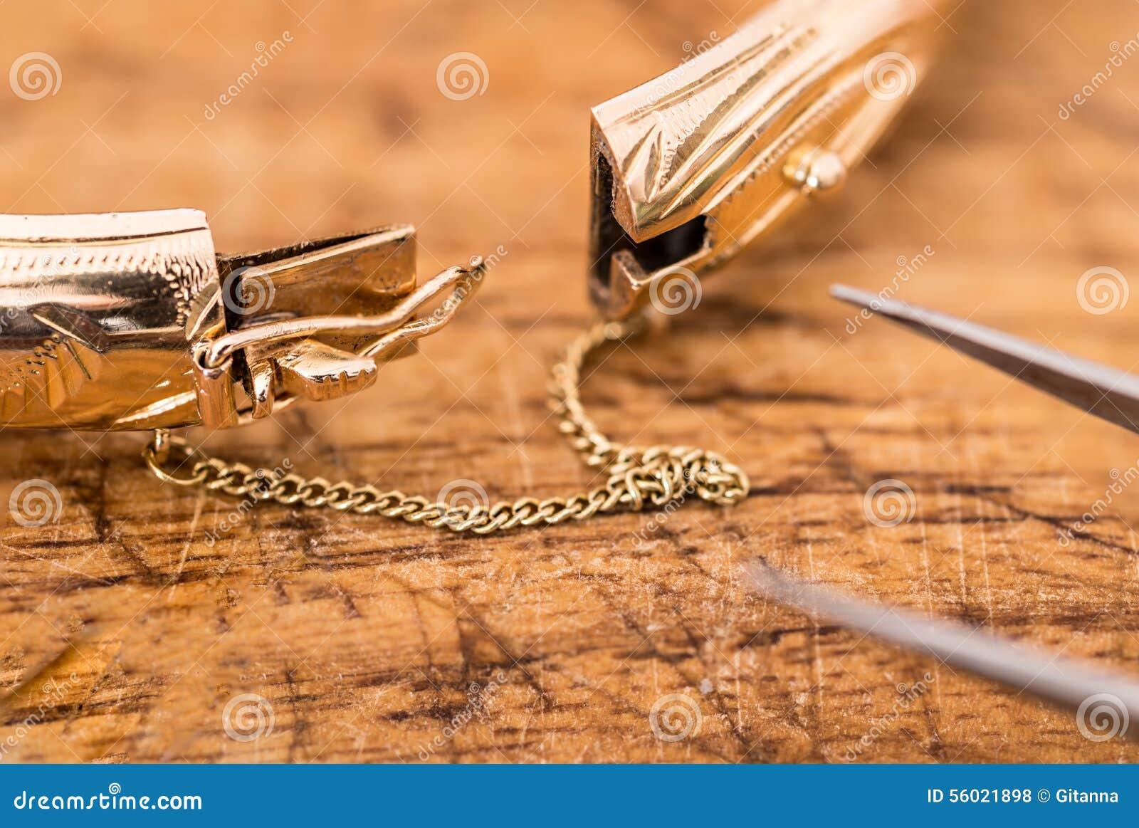 jewelry repair stock photo image 56021898