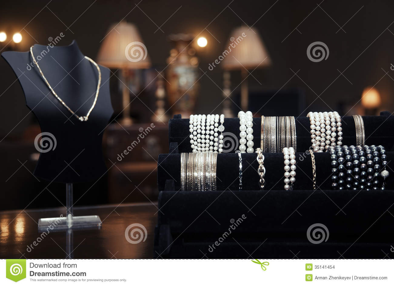 jewelry shop in tunis stock photo 44745528. Black Bedroom Furniture Sets. Home Design Ideas